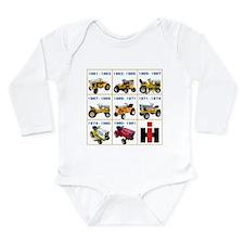 Lineage of IH Cub Cadet Long Sleeve Infant Bodysui