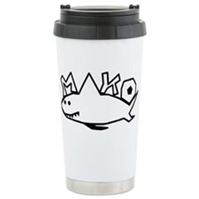 MAKO black hollow.png Travel Mug