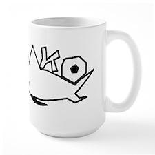 MAKO black hollow.png Mug