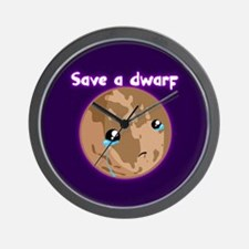 PR: SAVE A DWARF Wall Clock