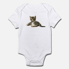 "Cute Tabby Kitten ""Meow"" Infant Bodysuit"