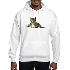 "Cute Tabby Kitten ""Meow"" Hoodie"