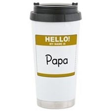 Cute Tag Travel Mug