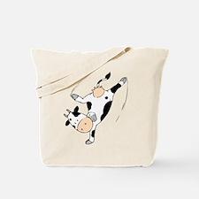 Mooviestars - Breakdancing Cow Tote Bag