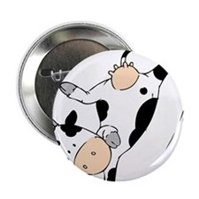 "Mooviestars - Breakdancing Cow 2.25"" Button"
