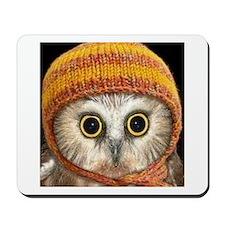 Baby Owl Mousepad