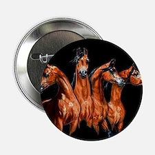 """Four Horses 2.25"""" Button"""