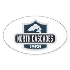 North Cascades Nature Badge Decal