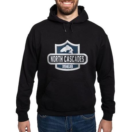 North Cascades Nature Badge Hoodie (dark)