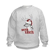 Deer Santa Sweatshirt