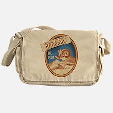 North Cascades Bighorn Badge Messenger Bag