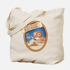 North Cascades Bighorn Badge Tote Bag