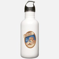 North Cascades Bighorn Badge Water Bottle