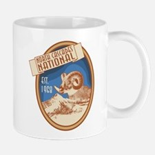 North Cascades Bighorn Badge Mug