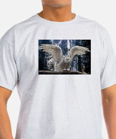 Woody Snow Owl T-Shirt