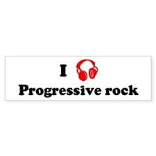 Progressive rock music Bumper Bumper Sticker