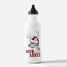 Deer Santa Water Bottle