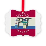 Physical therapy ornament Ornaments