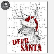 Deer Santa Puzzle