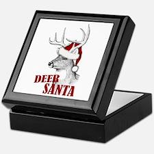 Deer Santa Keepsake Box