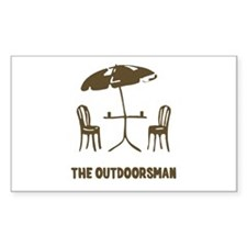 The Outdoorsman Decal