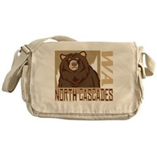 North Cascades Grumpy Grizzly Messenger Bag
