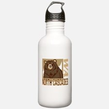 North Cascades Grumpy Grizzly Water Bottle