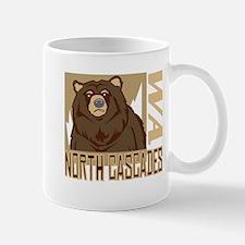 North Cascades Grumpy Grizzly Mug