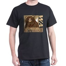 North Cascades Grumpy Grizzly T-Shirt
