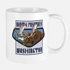 North Cascades Mountaintop Moose Mug