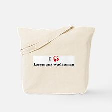 Laremuna wadauman music Tote Bag
