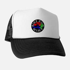 Triathlon Color Figures FLAT Trucker Hat