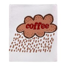 Coffee Storm... Throw Blanket