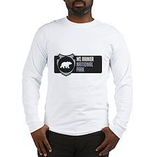 Mt. Rainier Arrowhead Badge Long Sleeve T-Shirt
