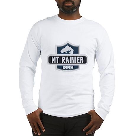 Mt. Rainier Nature Badge Long Sleeve T-Shirt