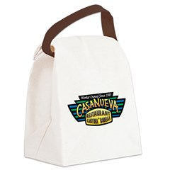 Wing Logo Canvas Lunch Bag