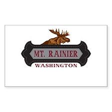 Mt. Rainier Fleur de Moose Decal