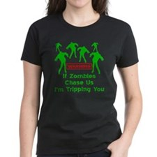 If Zombies Chase Us Tee