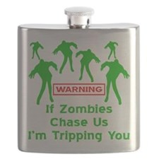 If Zombies Chase Us Flask