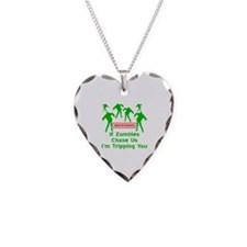 If Zombies Chase Us Necklace