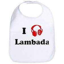 Lambada music Bib