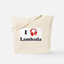 Lambada music Tote Bag