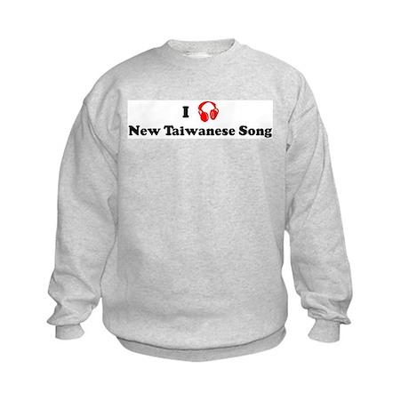 New Taiwanese Song music Kids Sweatshirt