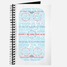 Hockey Rink Typography Design Journal