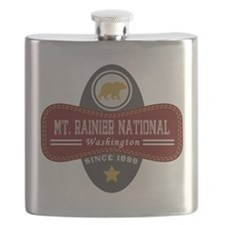 Mt. Rainier Natural Marquis Flask