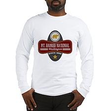 Mt. Rainier Natural Marquis Long Sleeve T-Shirt