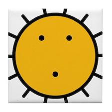 Kwakiutl Sun Tile Coaster