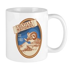 Colville Bighorn Badge Mug