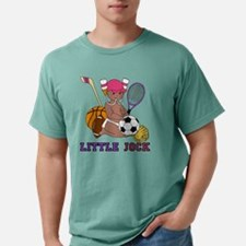 Little Jock Girl Dark Sk Mens Comfort Colors Shirt