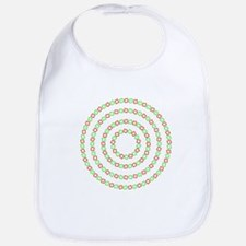 4 circles optical illusion Bib